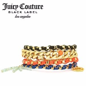 Juicy Couture BAHIA MULTI STRAND CHARM BRACELET